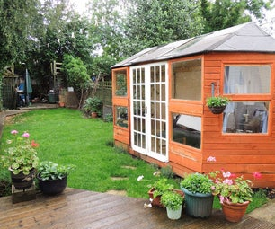 How to Build a Bespoke Summerhouse From Reclaimed Wood and Save Hundreds!