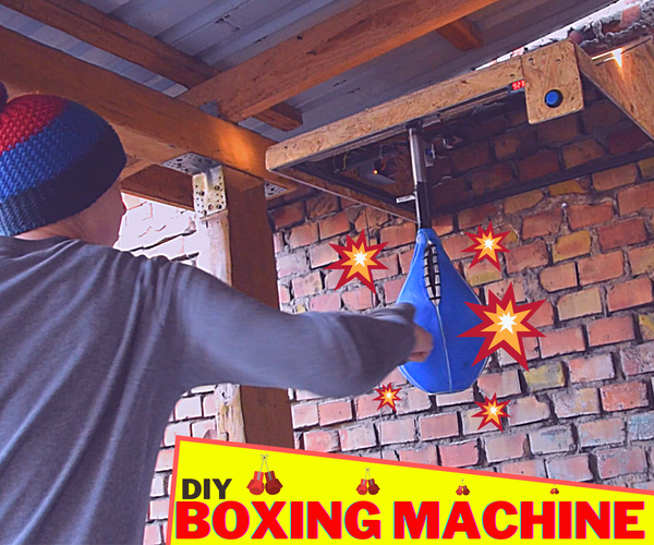 How I Made My Own Boxing Machine?
