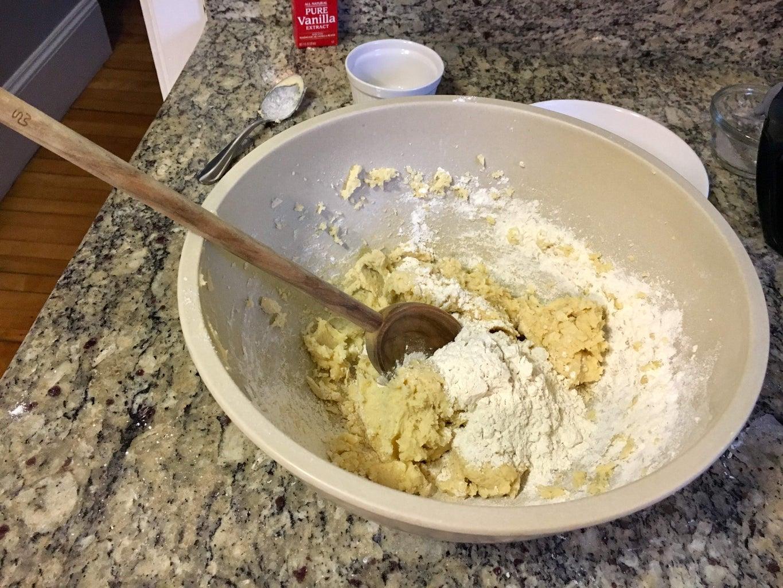 Prepare the Sugar Cookie Dough