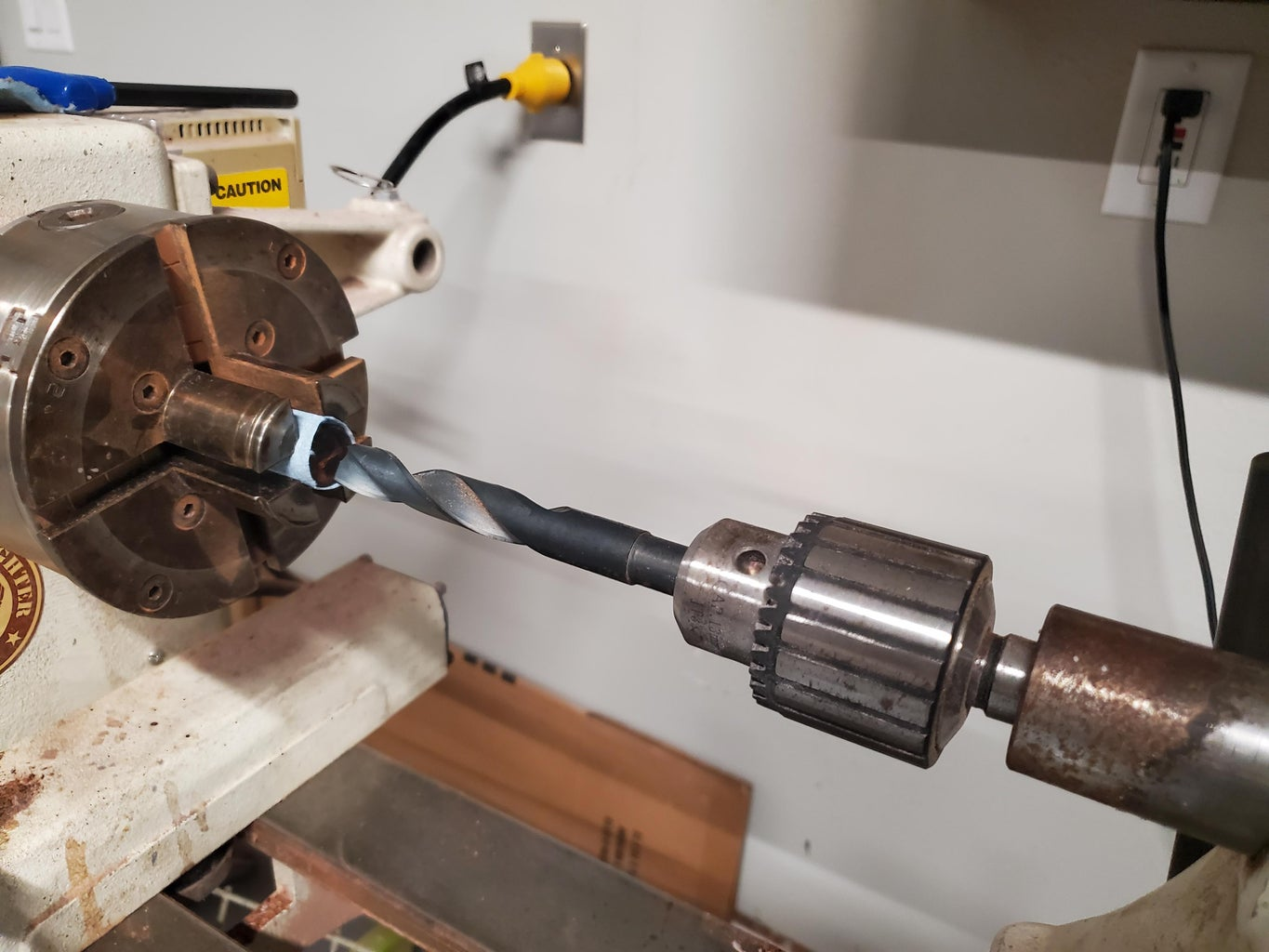 Drilling for the Brass Centers