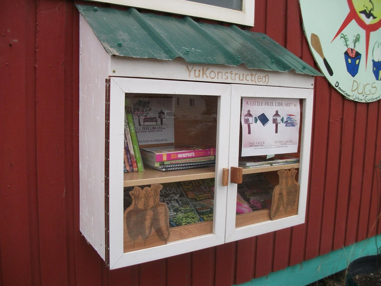 Urban Gardeners' Little Free Library