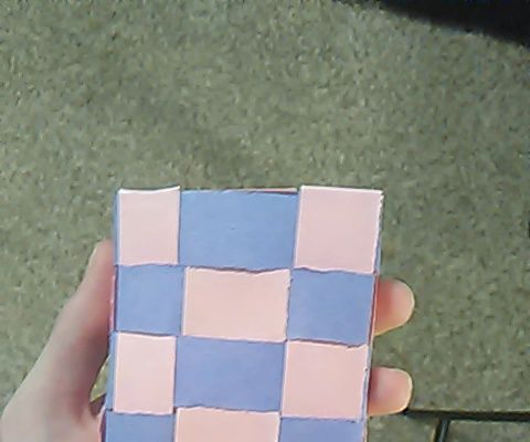 Weaved Paper Container