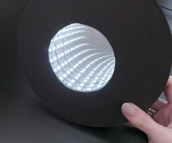 Easy Infinity Mirror With Arduino Gemma & NeoPixels