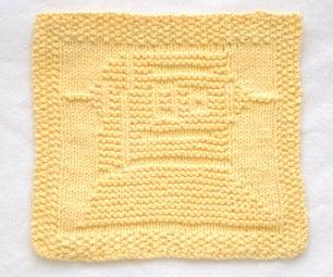 Instructables Robot Knit Dishcloth