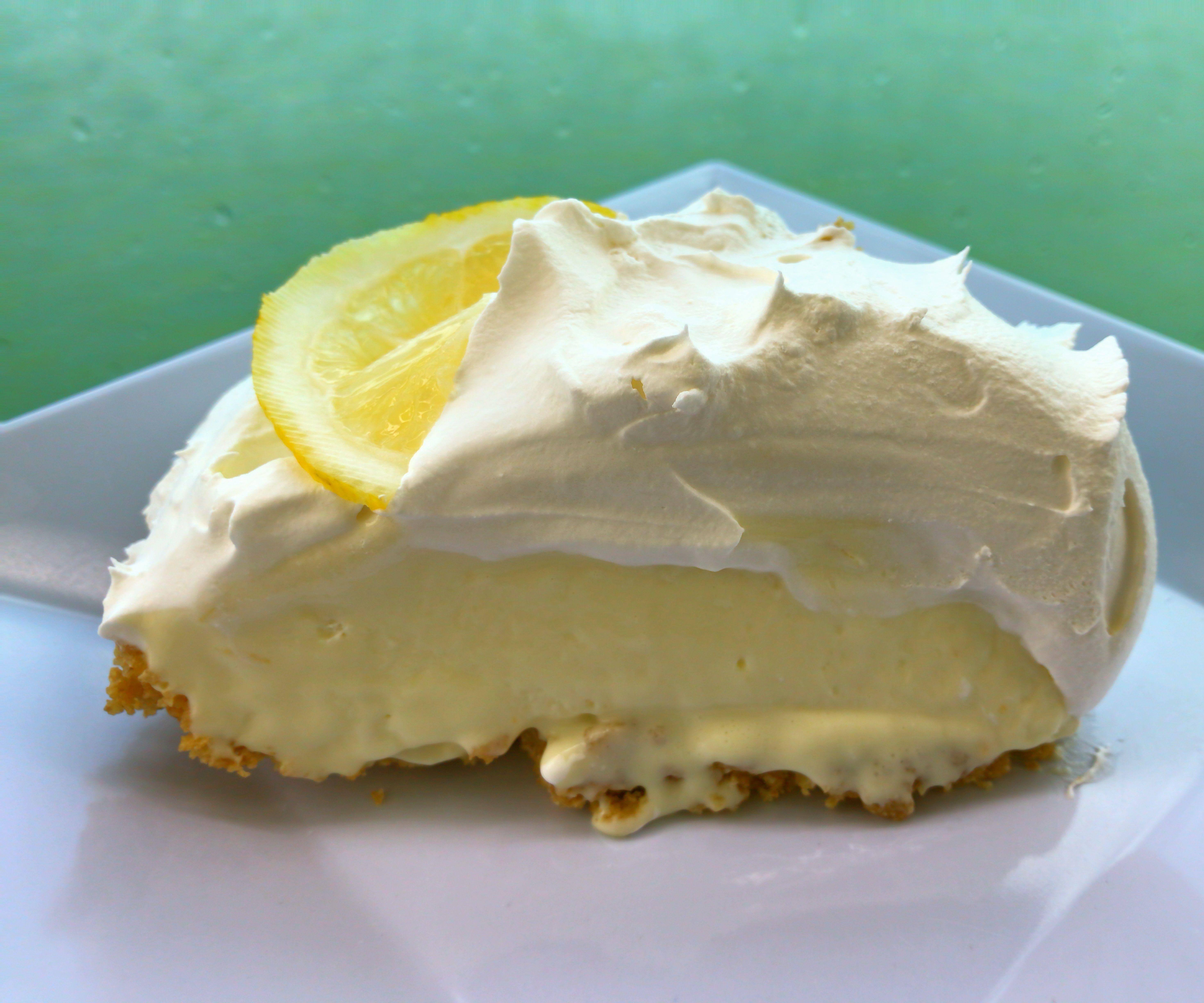 Sugartime Lemon Cream Pie