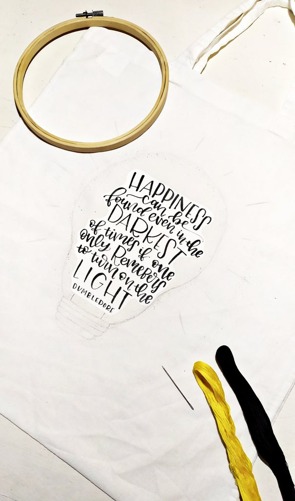 Start Embroidering