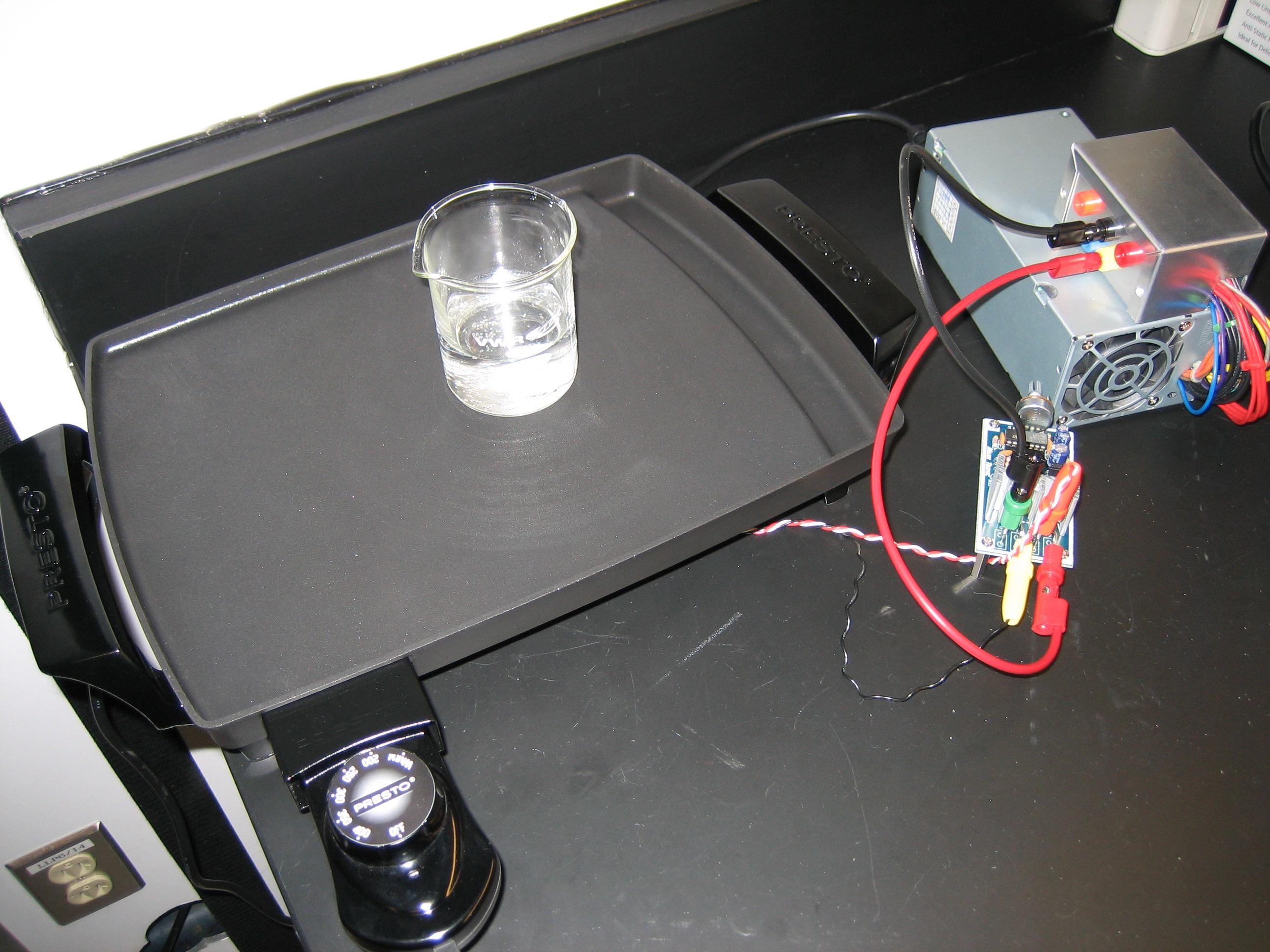 DIY Stirrer/Hot Plate