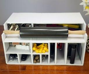 Cardboard Kitchen Cupboard Organizer