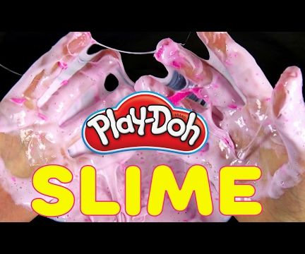 How to Make Fluffy Slime With Detergent and Glue