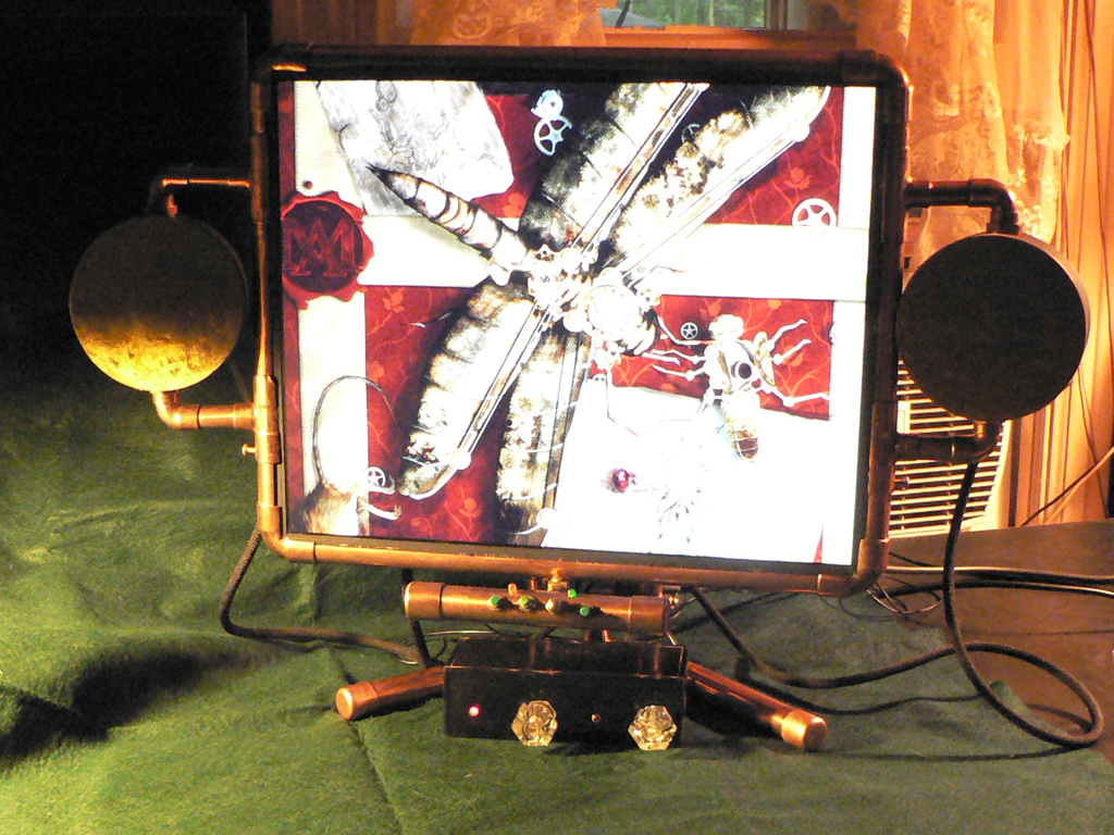 Miss Betsy's Steampunk Monitor