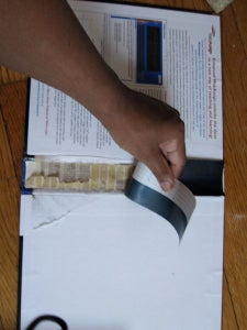 Bind and Tape the Section.