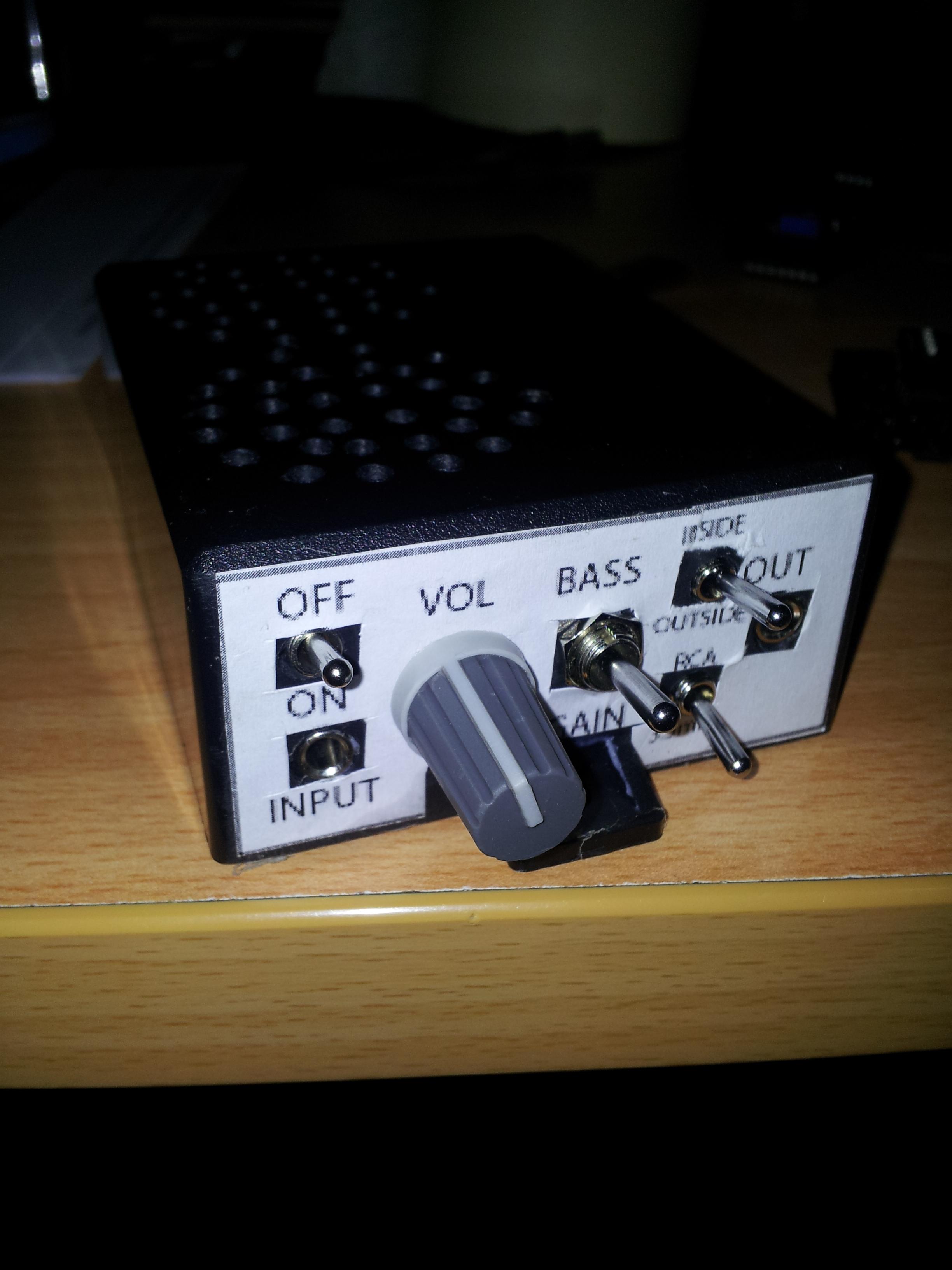 Pocket Stereo Amplifier