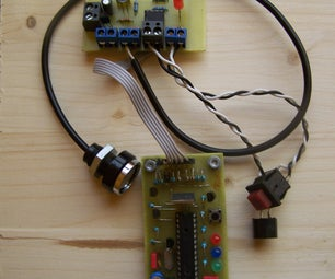 Electronic Lock With One-wire IButton