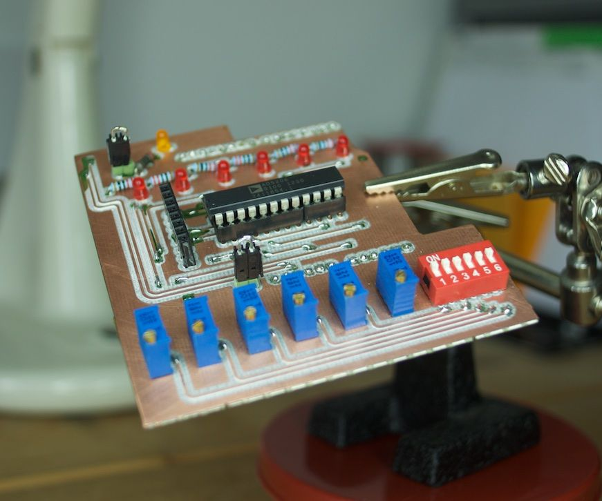 Digital Potentiometers Arduino Shield