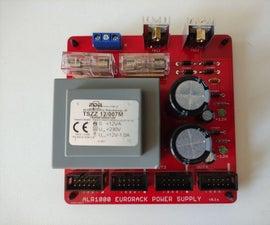 ALR400 - DIY Linear Regulated Eurorack Power Supply (and Power Bus Bar)