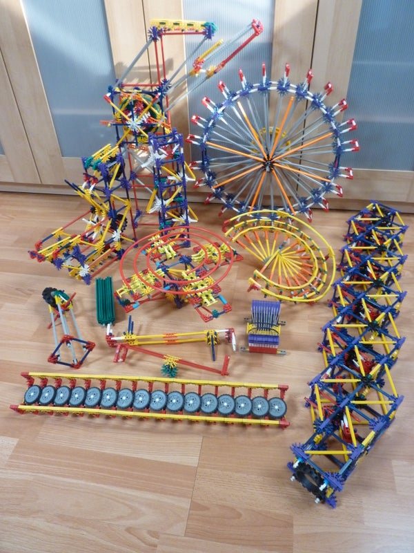 Knex Ball Machine: Paradox, Elements