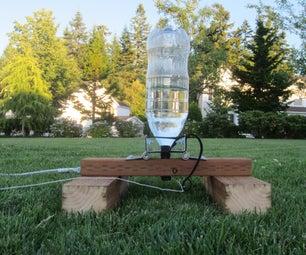 2升瓶水火箭和发射垫