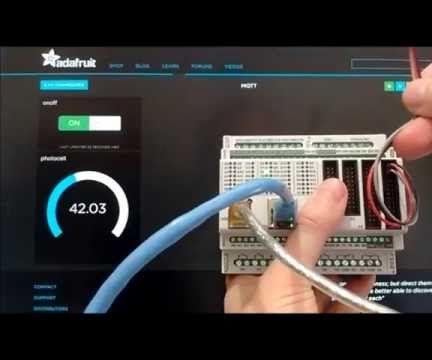 Visuino: Use the Adafruit IO MQTT to Remotely Access and Control Controllino MEGA PLC