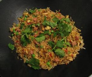 Chilli Egg Fried Rice