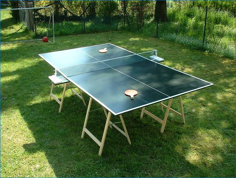 Outdoor Table Construction