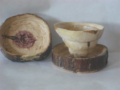 Collapsible Wood Cup