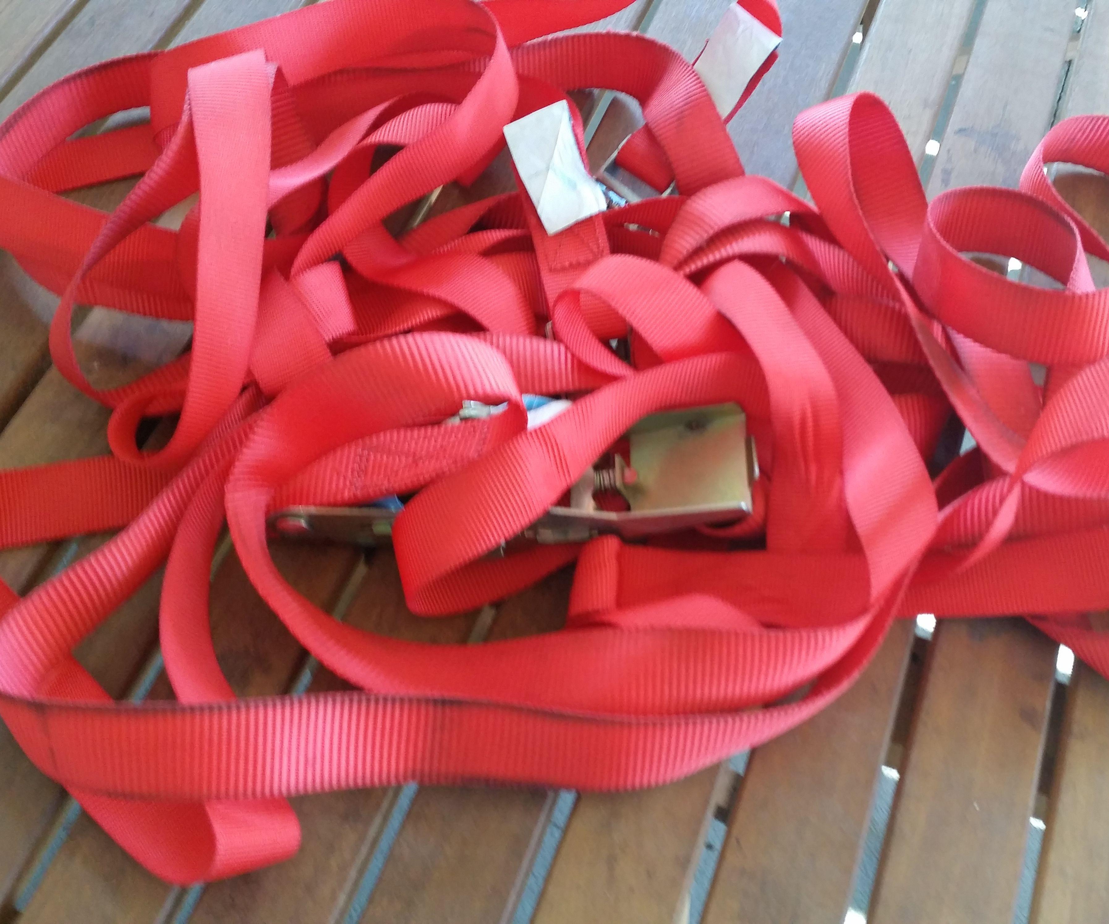 Tie Down Strap Storage
