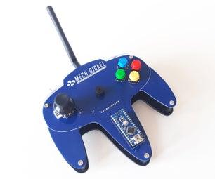 N64-inspired Robot Controller (Arduino + NRF24L01)