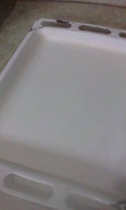 Oiling and Flouring Baking Sheet