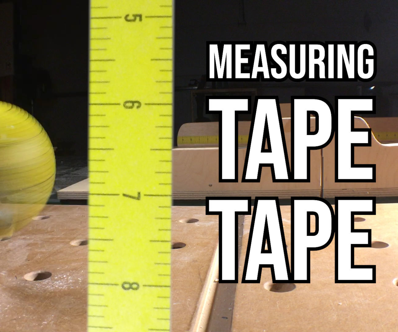 Using Measuring Tape Tape for Sacrificial, Incremental Bliss