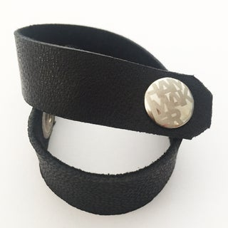 Leather Bracelets From Recycled Belts