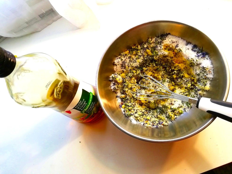 Add the Oils