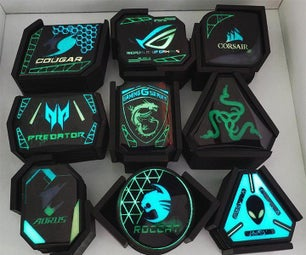 9 Sets of Extraterrestrial Coasters