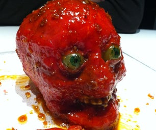 Edible Human Meat Skull
