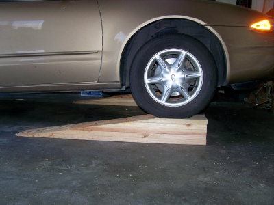 Ramps for a Low Car