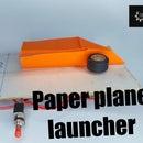 (DIY)Paper Plane Launcher