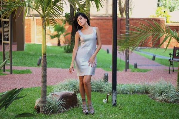 How to Make a Sequin Tank Dress
