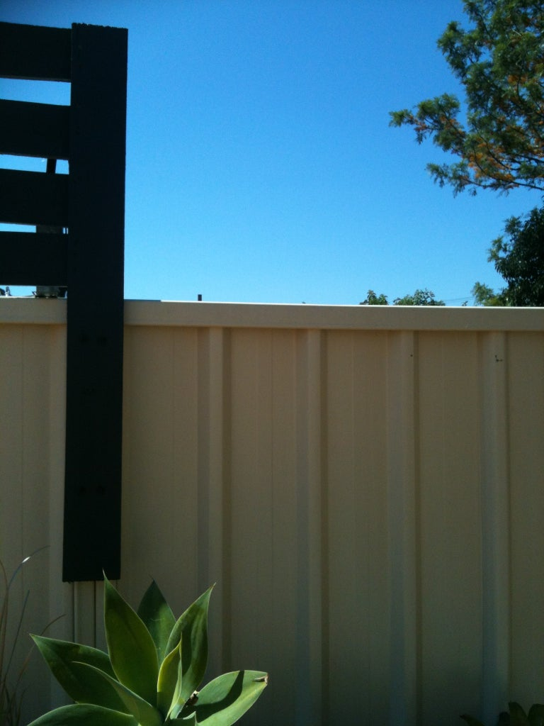 Attaching Support Posts to Fence Posts