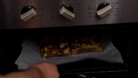 To Finish It Off Move the French Toast Onto a Tray.