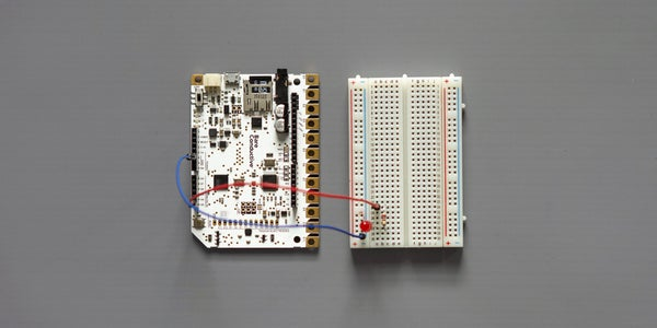 Connect Touch Board to Breadboard