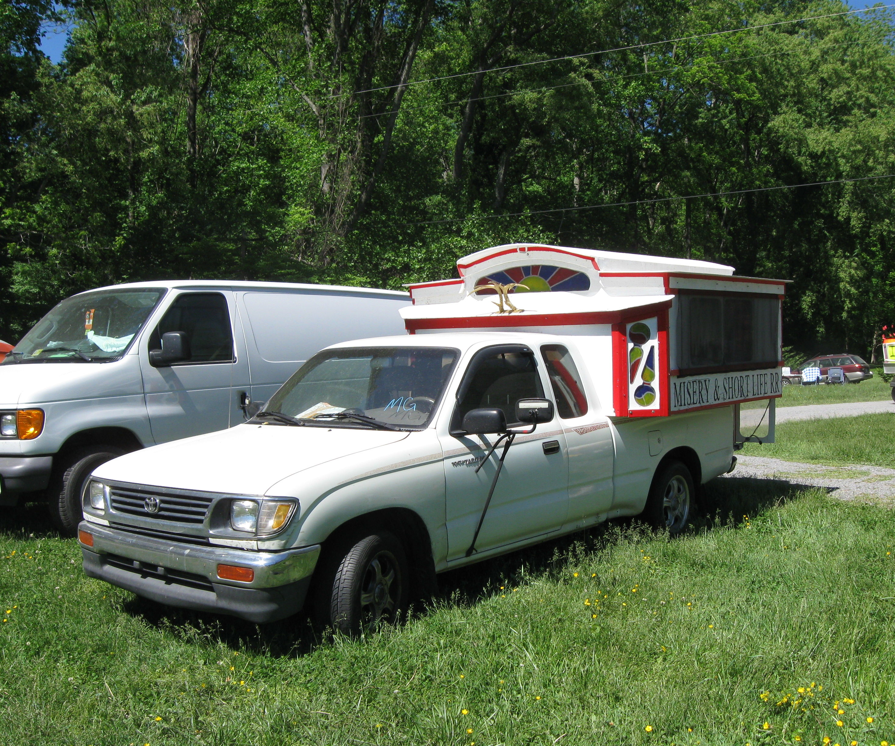 Plywood Shack Pickup Camper