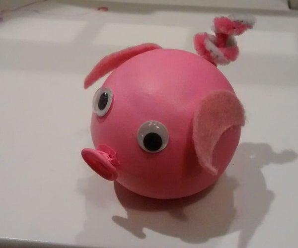 Tennis Ball Pig