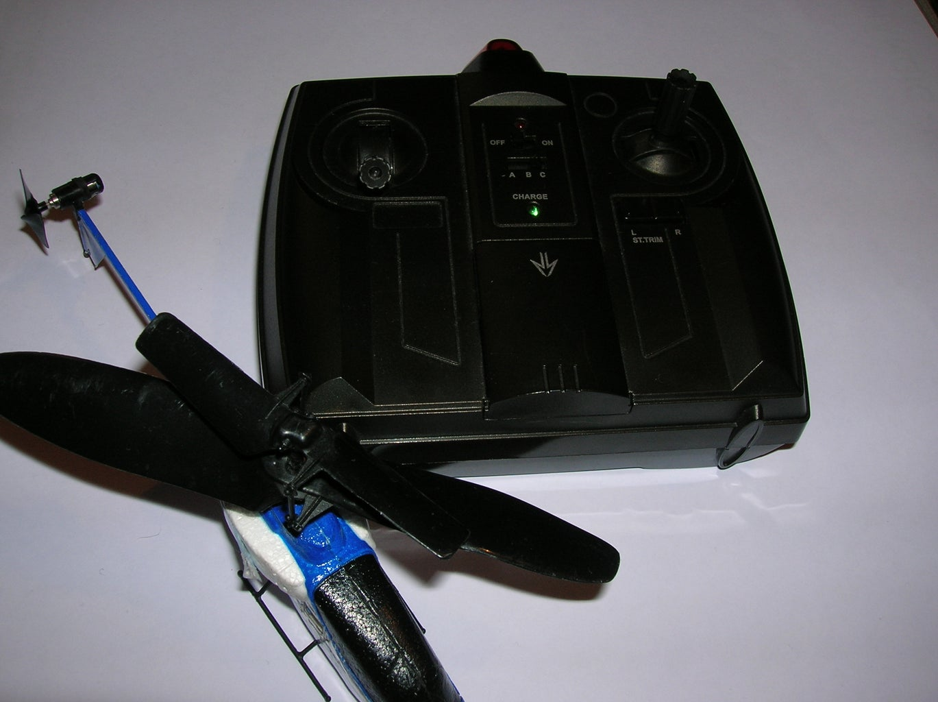 How to Fly a Toy Helicopter