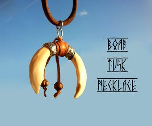 Boar Tusk Necklace