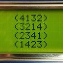 Arduino Sorta Sudoku Game