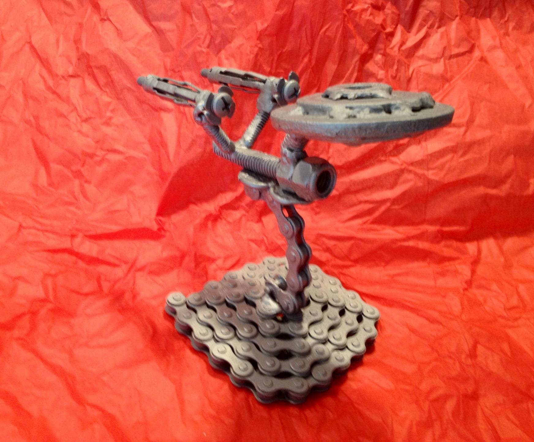 Metal USS Enterprise