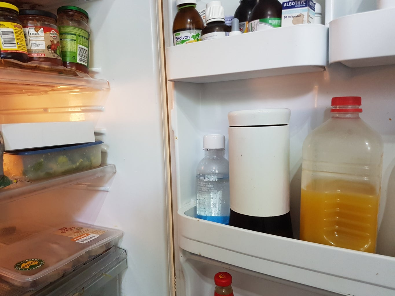Leave the Jar Lying Around and Then Put It in the Fridge