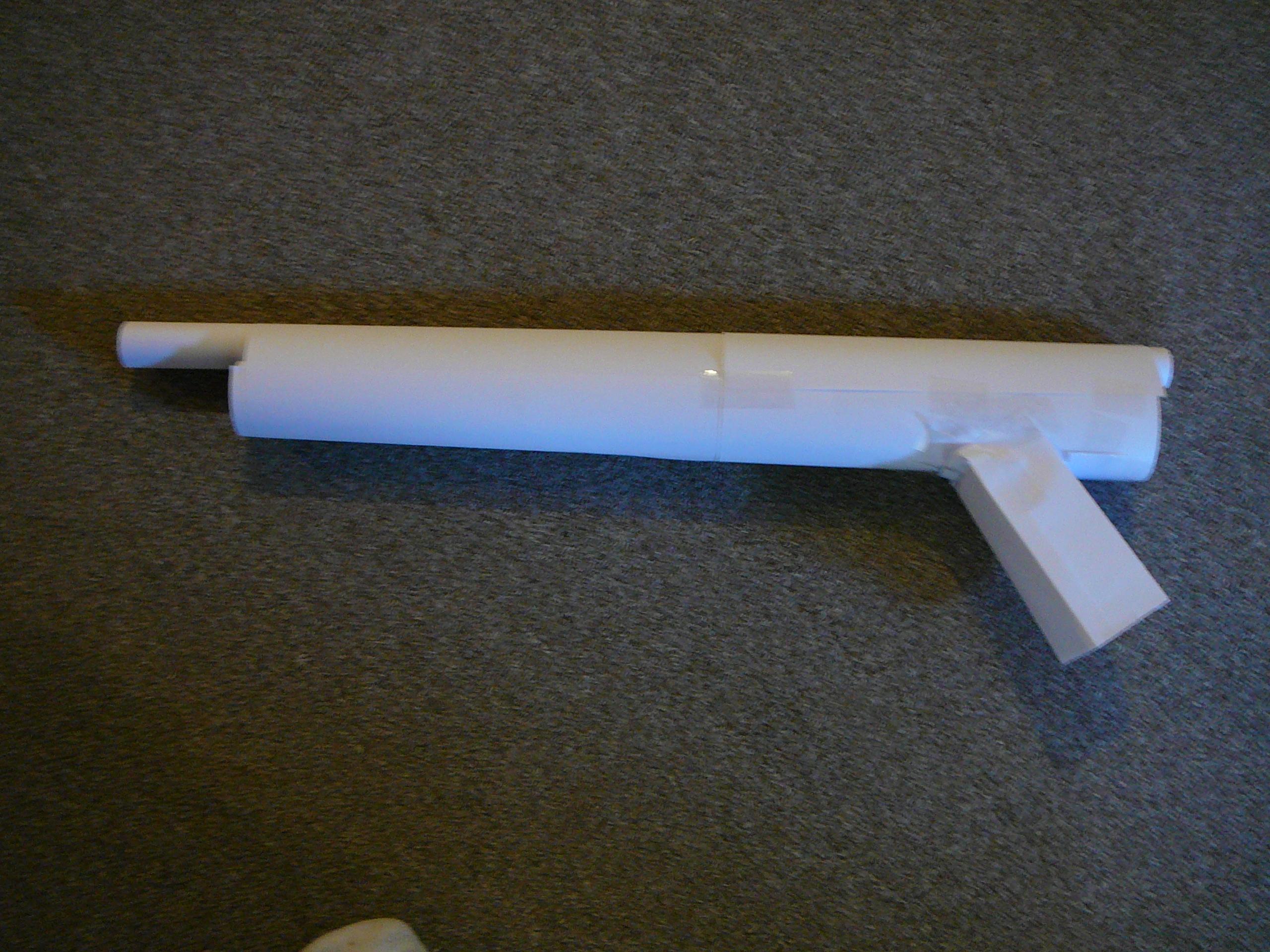 Paper shot gun