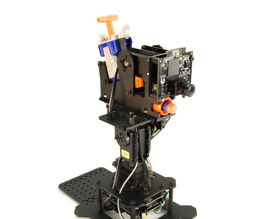 Auto-Turret with Pixy and Nerf Gun