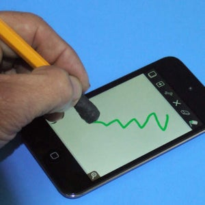 Turn a Pencil or Pen Into a Stylus