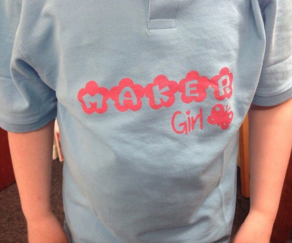 Simple Silhouette T-Shirt Stenciling
